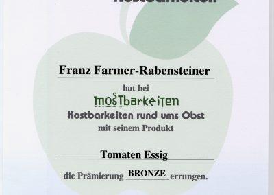 Mostbarkeiten-Tomatenessig